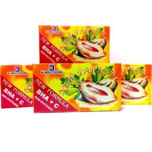 New Papaya Skin Whitening Soap  4 Pack