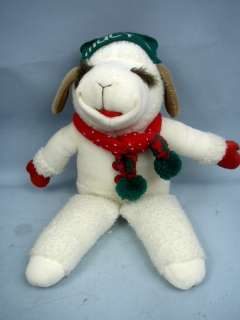 Shari Lewis 20 Christmas Lamb Chop Plush 1993   Macys Exclusive