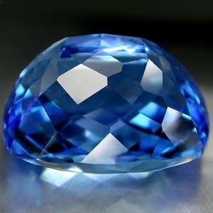 92.20cts Master Grade Best 7* AAA Swiss Blue Topaz NR
