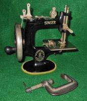 Machine CAST IRON Rare Antique1900s Singer Toy Miniature Table Clamp