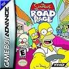 The Simpsons Road Rage Nintendo Game Boy Advance, 2003 785138321356