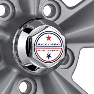 American Racing Authentic Hot Rod T70R Silver w/Polished Lip