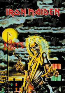 IRON MAIDEN Killers Official Poster FLAG NEW