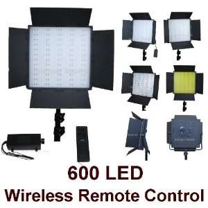 Photography Photo 600 Led Light with Wireless Remote Dimmer Control