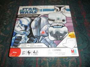 Star Wars Galactic Heroes Board Game Clone VS Droid NEW