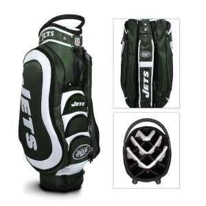 NEW NFL New York Jets Medalist Cart Team Golf Bag