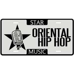 New  I Am A Oriental Hip Hop Star   License Plate Music
