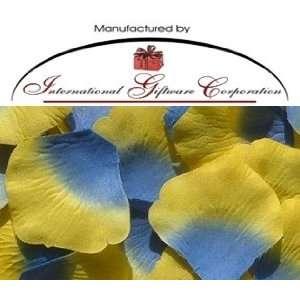 Petals Wedding Favors   Two Tone Color Blue/Yellow