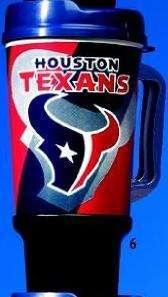 Houston Texans NFL Football 32 oz. GRIP Sports Mug NEW