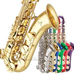 NEW CECILIO 2SERIES TS 280 TENOR SAXOPHONE SAX 7 Colors