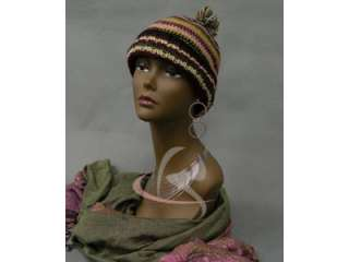 Mannequin Head Bust Wig Hat Jewelry Display BK #TinaB3