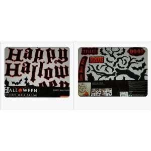 Happy Halloween Adhesive Wall Decor Arts, Crafts & Sewing
