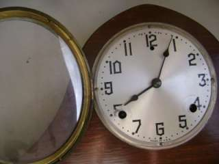 Vintage Gilbert Tambour Bim Bam Normandy Chimes Mantle Clock