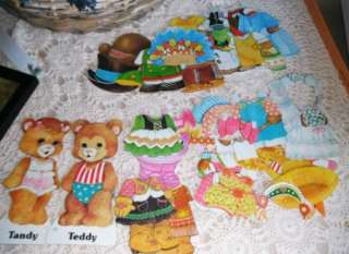 Dolls 1979 Whitman Toys Boy & Girl Teddy Bears Original Box