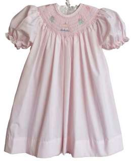 Petit Ami Baby Girls Smocked Birthday Party Dress 18M
