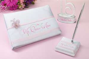 Mis Quince Anos Quinceanera Guest Book Pen Set Birthday