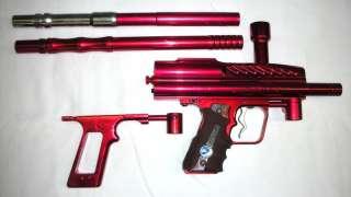 WDP Angel Dark LED Angel Rare version paintball gun Red with 2 barrels