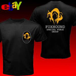 The Metal Gear Solid FoxHound Force Operation X T shirt