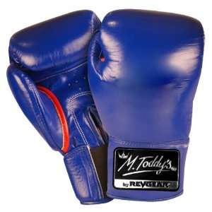 RevGear Blue Triple Threat Mexican Style Sparring Boxing Gloves (Size
