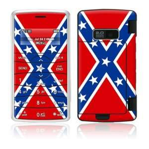 Confederate Flag Design Protective Skin Decal Sticker for