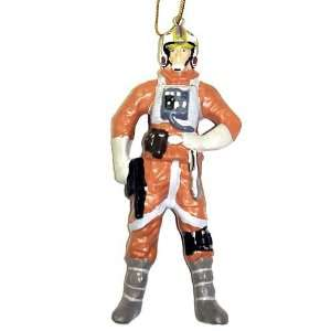 Star Wars Porcelain Luke Skywalker 4.5 Christmas Ornament