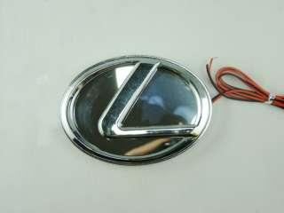 NEW Blue 3D LED Car Decal Logo Light Badge Lamp Emblem Sticker for