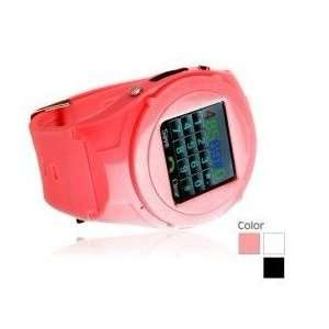 Quad Band 1.5 Inch Touch Screen Sports Wrist Watch Cell