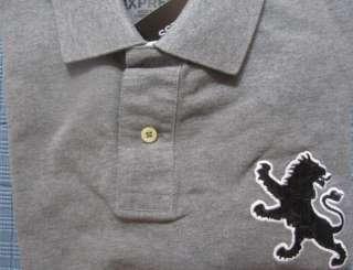 New EXPRESS Lion Casual Polo Shirt, XL, nwt, $55 (Mens, T Shirt