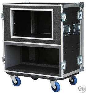SAFECASE FOR Mesa Boogie Mark V Head w/ 10 SPACE RACK