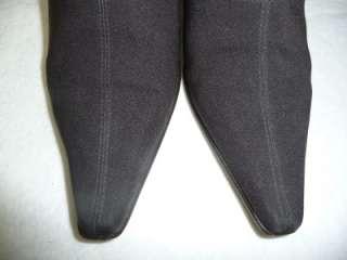 Donald Pliner Brown Microfiber Ankle Boots 7 M