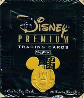 Disneys Premium Trading Card Factory Sealed Box!!