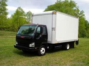 GMC W4500 Isuzu NPR HD 14 Box Truck Lift Gate 4cyl. Turbo Diesel No