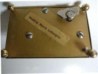 Swiss Miniature Musical Alarm Clock