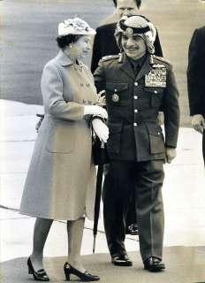 HM QUEEN ELIZABETH / KING HUSSEIN OF JORDAN ROYAL VISIT 1984