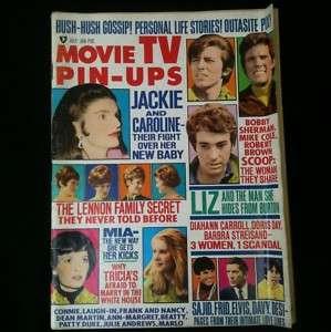 Movie TV Pin Ups Magazine Jackie Kennedy, Mia Farrow #8