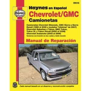 Chevrolet and GMC Camionetas Manual de Reparacion (Spanish