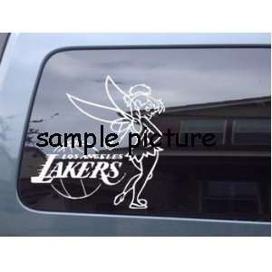 Tinkerbell LA Lakers Car Window Vinyl Decal Sticker  STLK006  6L