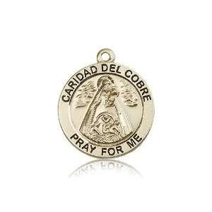 Caridad Del Cobre Pendants   14kt Gold Caridad Del Cobre