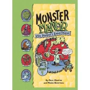(Monster Manor) (9781599618821) Paul Martin, Manu Boisteau Books