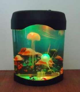 Jellyfish LED Mood Lamp Aquarium Jellyfish Lamp Multi color light lamp