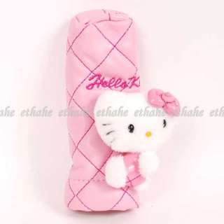 Hello Kitty Plush Car Gear Shift Brake Cover Pink 1HDS