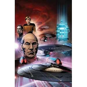 The Space Between (Star Trek (IDW)) [Paperback] David Tischman Books