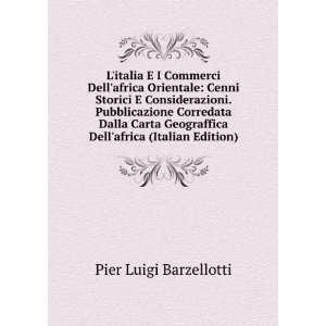 Dellafrica (Italian Edition) Pier Luigi Barzellotti Books