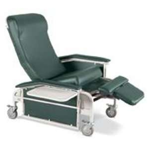 Drop Arm Care Cliner w/Steel Casters (Catalog Category Patient Chairs