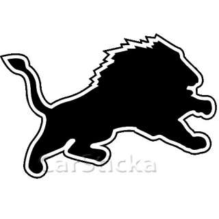 Detroit Lions logo nfl car wall vinyl sticker decal