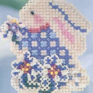 Cross Stitch Kit Mill Hill 2004 Spring Bouquet 098063112792