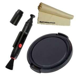 37mm Lens Cap for Sony Nikon Camera + Cleaning Lens Pen
