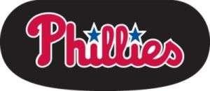 PHILADELPHIA PHILLIES EYE BLACK STRIPS STICKER DECALS