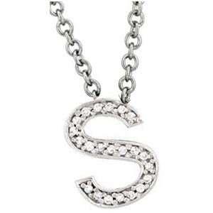 English Letter Necklace (0.25 ct.tw.): Evyatar Rabbani: Jewelry