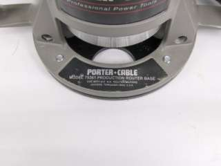 Porter Cable 75192 Production Router Motor & 75361 Production Router